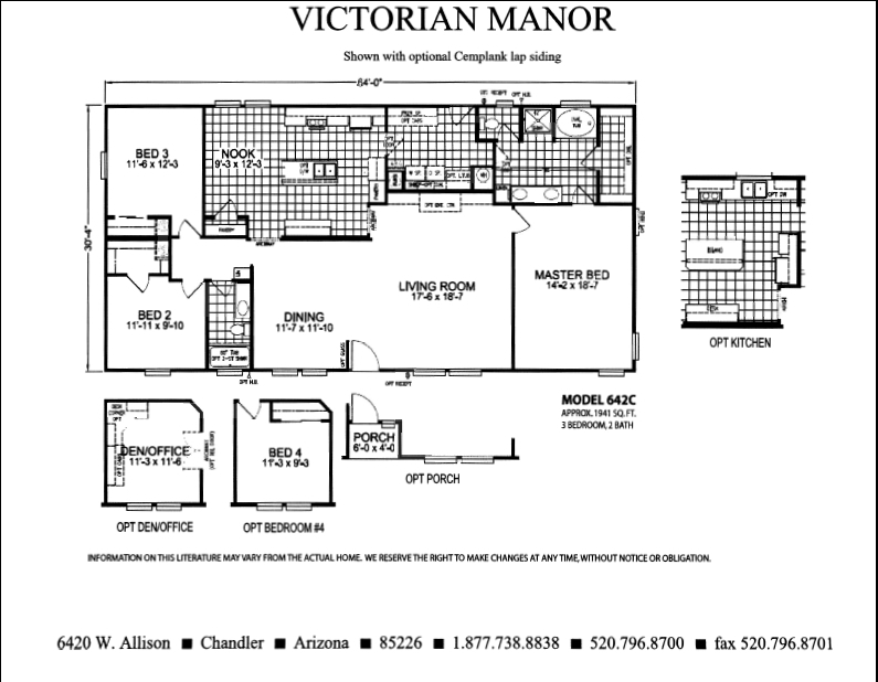 Floor Plan Of Victorian Manor